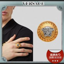 20AW/送料込≪VERSACE≫ ロゴ VG12 メドゥーサ リング