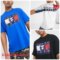 AAPE By A Bathing Ape x Tommy Jeans コラボカットソー