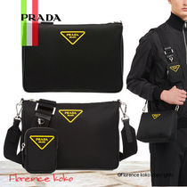 関税込み国内発送 PRADA Nylon Shoulder Bag 2VH113_074