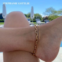 STEPHANIE GOTTLIEB(ステファニーゴットリブ) アンクレット NY発!Large Box Chain Anklet【STEPHANIE GOTTLIEB】14K 3種
