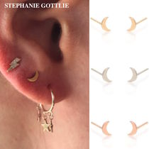STEPHANIE GOTTLIEB(ステファニーゴットリブ) ピアス NY発!Itty Bitty Moon Studs【STEPHANIE GOTTLIEB】