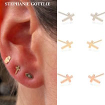 STEPHANIE GOTTLIEB(ステファニーゴットリブ) ピアス NY発!Itty Bitty Cross Studs【STEPHANIE GOTTLIEB】