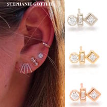 STEPHANIE GOTTLIEB(ステファニーゴットリブ) ピアス NY発!Mixed Shape Diamond Studs【STEPHANIE GOTTLIEB】