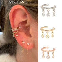 STEPHANIE GOTTLIEB(ステファニーゴットリブ) イヤリング NY発!3 Dangling Diamond Bezel EarCuff【STEPHANIE GOTTLIEB】