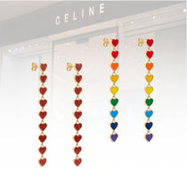 新作★CELINE★SACRED HEART PENDANT EARRINGS ロングピアス