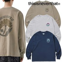 ★thisisneverthat★Overdyed Flower L/SL Top 3色