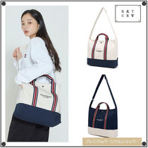 日本未入荷ROMANTIC CROWNのRMTCRW STRIPE TOTE BAG 全2色