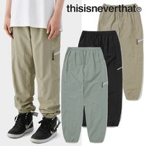 ★thisisneverthat★Zip Jogging Pant 3色