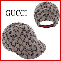 ★GUCCI★GGキャンバスハット☆正規品・安全発送☆