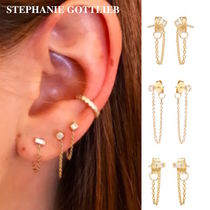 STEPHANIE GOTTLIEB(ステファニーゴットリブ) ピアス NY発!Diamond Shape Chain Studs【STEPHANIE GOTTLIEB】