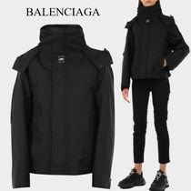 BALENCIAGA Upside-down jacket black