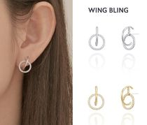 ★ WING BLING ★ Curve Shine イヤリング