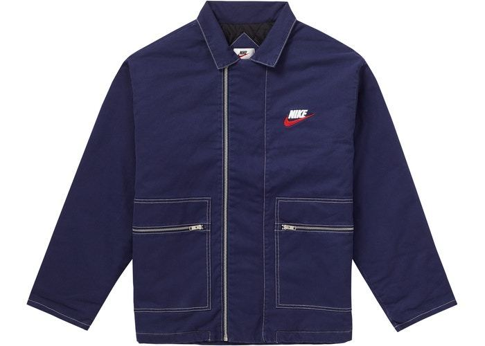 2018 Supreme Nike Double Zip Quilted Work Jacket FW (Supreme/ジャケットその他) 57398195