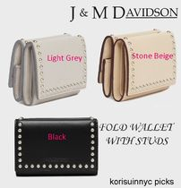 NEW*J&M DAVIDSON*Fold Wallet with Studs 折りたたみ財布