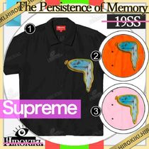 19SS/Supreme The Persistence of Memory Silk S/S Shirt シルク