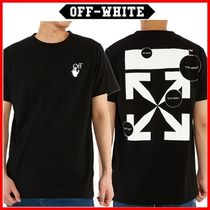 ☆Off-White☆ CUT HERE スリム半袖Tシャツ ☆正規品☆