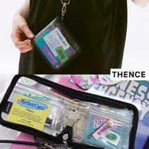 【THENCE】韓国発★ SEWING GLITTER WALLET