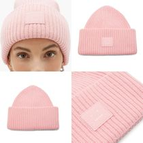 送料関税無料 [Acne Studios] Rib-knitted wool beanie hat