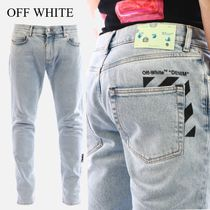 OFF WHITE Diagonals Skinny Jeans