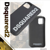 【20AW NEW】 D SQUARED2_men / Dsquared2 iPhoneケース / BLACK