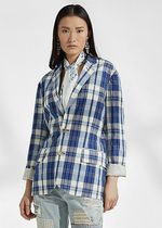 ラルフローレン Ruthie Cotton Madras Jacket