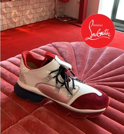 ●送料込●Christian Louboutin●Red Runner Version Multi