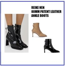 Reike Nen(レイクネン) ショートブーツ・ブーティ [REIKE NEN] 80MM PATENT LEATHER ANKLE BOOTS (送料関税込み)