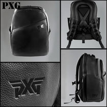 PXG(ピーエックスジー) バックパック・リュック PXG☆レザー ロゴ バックパック☆LEATHER BACKPACK