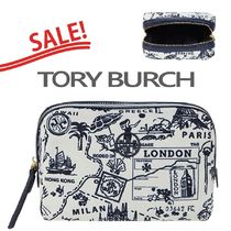 SALE【Tory Burch】Perry Printed Cosmetic Case★Tロゴポーチ