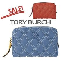 SALE【Tory Burch】 Perry Nylon Cosmetic Case★Tロゴポーチ