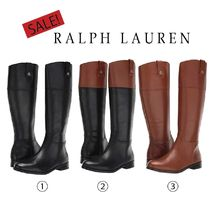 SALE【LAUREN Ralph Lauren】Barkston★ロゴ入りロングブーツ