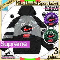 19SS /Supreme Nike Hooded Sport Jacket ナイキ スポーツ JK