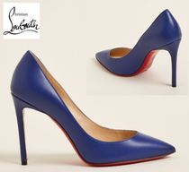 CHRISTIAN LOUBOUTIN☆Ocean Pigalle Pointed Toe Leather Pumps