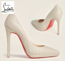 CHRISTIAN LOUBOUTIN☆Rope Pigalle Pointed Toe Leather Pumps