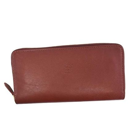 IL BISONTE ラウンド長財布 C1166 EP 245 ROSSO COWHIDE LEATHER