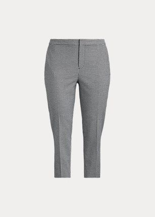 ラルフローレン Houndstooth Cotton-Blend Pant