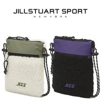 日本未入荷★JILLSTUART SPORT★J FLEECE SHOULDER BAG