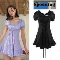 【SPOONING】 LAST DANCE DRESS (lavender/Black)
