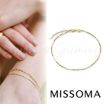 MISSOMA 》GOLD SINGLE ISA TWISTED CHAIN ANKLET★アンクレット