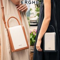 【ERGHE】Canvas BOX BAG 全2色