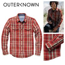 【Outer known】大人気! BLANKET シャツ−Paprika Ventana