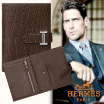 unisex◆Hermes直営店◆大人の贅沢☆注目のBearn Compact wallet