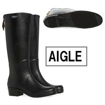 AIGLE☆MISS JULIETTE HEELED ウェリントンブーツ☆N