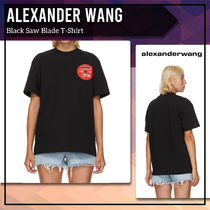 [Alexander Wang] Black Saw Blade T-Shirt 送料関税込