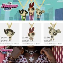 【Powerpuff Girls x King Ice】ネックレス☆3種(Gold/Silver)