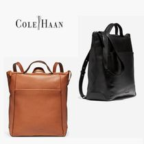 【COLE HAAN】 グランド・アンビション・レザー・バックパック