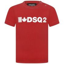 2020AW DSQUARED2 Baby DSQ2ロゴTシャツ RED (CP-36m)