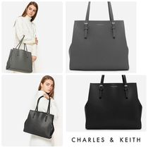 ★CHARLES&KEITH★STRUCTURE TOTE BAG/送料込
