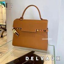 DELVAUX(デルボー) ハンドバッグ 【DELVAUX】エレガント☆Tempete MMミディアム ハンドバッグ