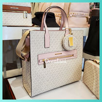 [MICHAEL KORS] レア物!! トートバッグ KENLY LARGE